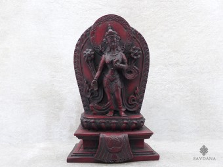 St41 Statue Tara Déesse Bouddhiste