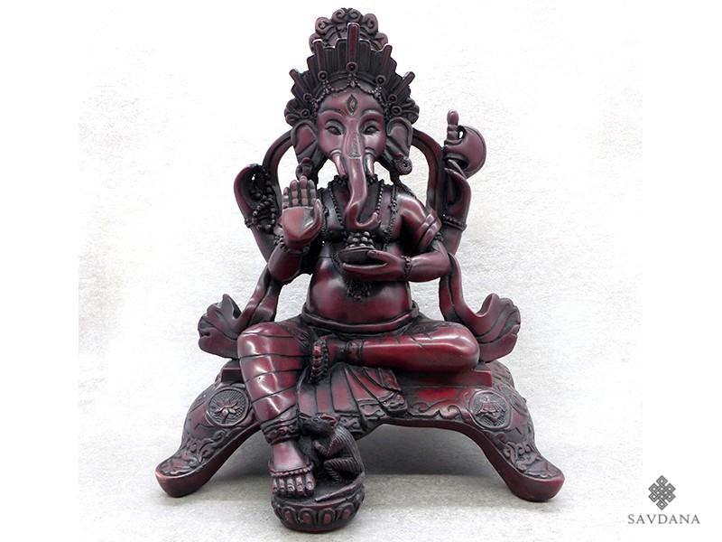 https://www.savdana.com/18259-thickbox_default/st57-statue-ganesh-signes-auspicieux-du-bouddhisme-astamangala.jpg