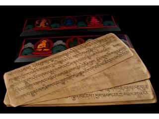 LP17 Livre de Prières de Moines Tibétains