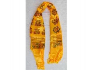 K05 Khata Tibétaine Mantra Astamangala