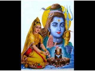 F01 Faïence Shiva et Parvati