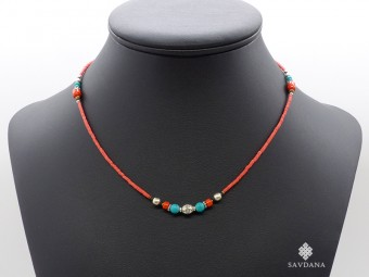 CD167 Collier Tibétain