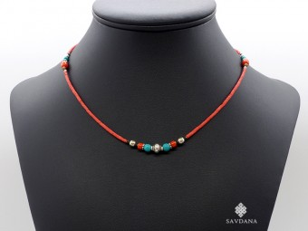 CD192 Collier Tibétain