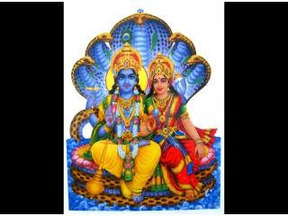 F03 Faïence Vishnu Laxmi