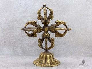 Dorje03 Double dorje/Vajra Tibétain Bouddhiste