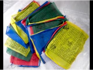DP01 Drapeaux de Prières Tibétains