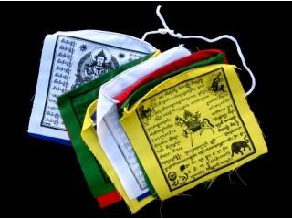 DP09 Drapeaux de Prières Tibétains