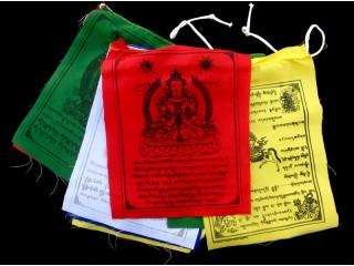 DP10 Drapeaux de Prières Tibétains