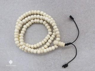 Mala97 Mala de Prières Tibétain Os de Buffle Elastique