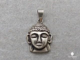 PA327 Pendentif Argent Massif Bouddha
