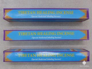 Ens02 Lot de 3 Boites d'Encens Tibétain Guérisseur