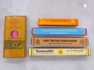 Ens06 Lot de 5 Encens Tibétains Différents