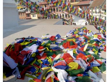 DP13 Drapeaux de Prières Tibétains 16,5 m