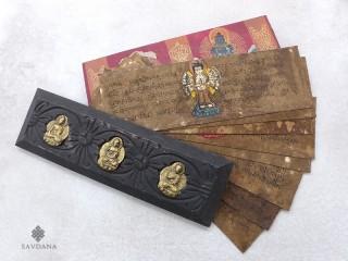 LP14 Livre de Prières de Moines Tibétains