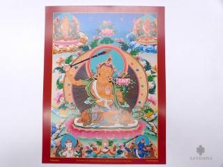 AF129 Affiche Tibétaine Manjushree