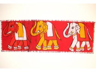 BB08 Batik Eléphants