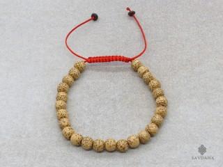 BrMala23 Bracelet Mala de Prières Tibétain Graines de Lotus