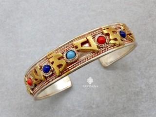 BrD382 Bracelet Tibétain Mantra