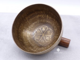 BC86 Bol Chantant Tibétain Mantra Noeud Sans Fin