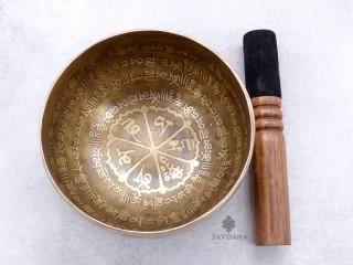BC132 Bol Chantant Tibétain Om Mantra Dorje