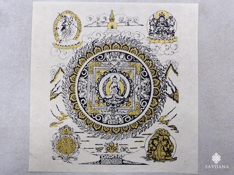 https://www.savdana.com/19885-thickbox_default/af142-affiche-tibetaine-papier-nepalais-bouddha.jpg
