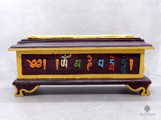 BE70 Brûle et Porte Encens Tibétain Mantra