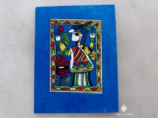 CrA147 Carnet Artisanal Népalais Art Mithila