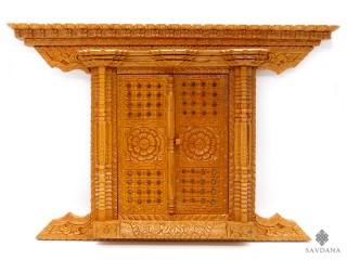 Div99 Porte Népalaise Traditionnelle