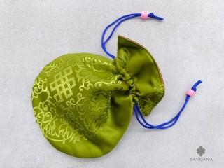 PochTib24 Petite Pochette Tibétaine pour Mala