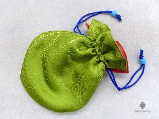 PochTib32 Petite Pochette Tibétaine pour Mala