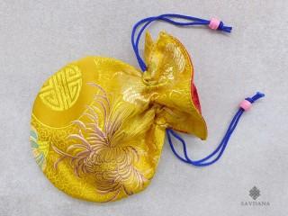 PochTib54 Petite Pochette Tibétaine pour Mala