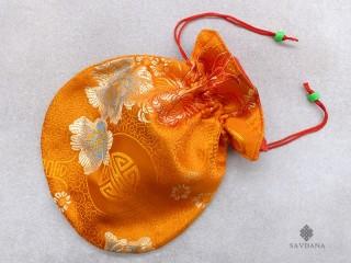PochTib65 Pochette Tibétaine pour Mala
