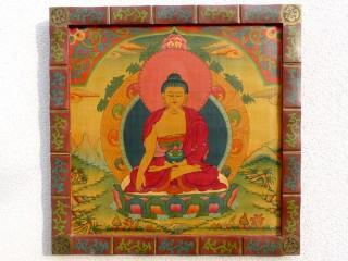 PNT04 Peinture Tibétaine Bouddha