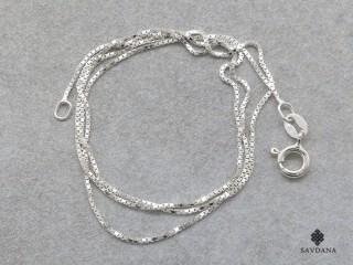 ChA27 Fine Chaine Argent Massif