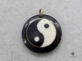 P119 Pendentif Tibétain Yin Yang