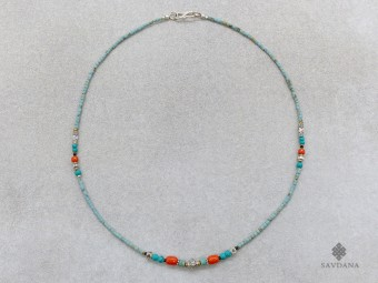 CD158 Collier Tibétain 45 cm