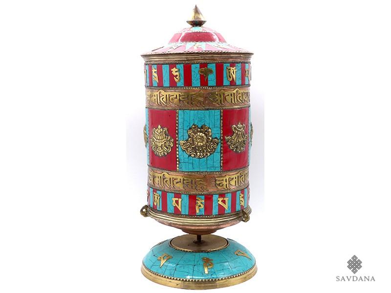 https://www.savdana.com/21262-thickbox_default/rp55-grande-roue-a-prieres-tibetaine-mantra-astamangala-.jpg