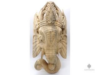 Msq52 Masque Ganesh Bois