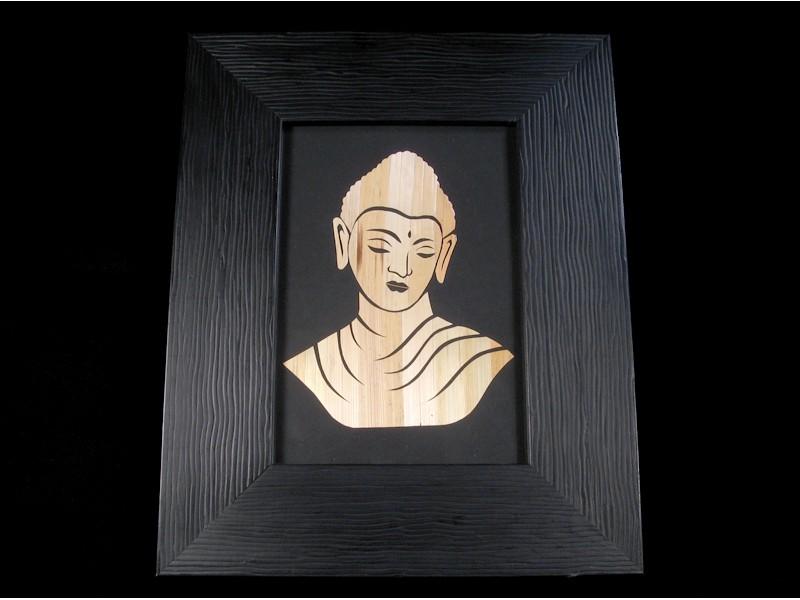 Div28 Cadre Bouddha Décoration Bouddhiste Artisanat Tibet