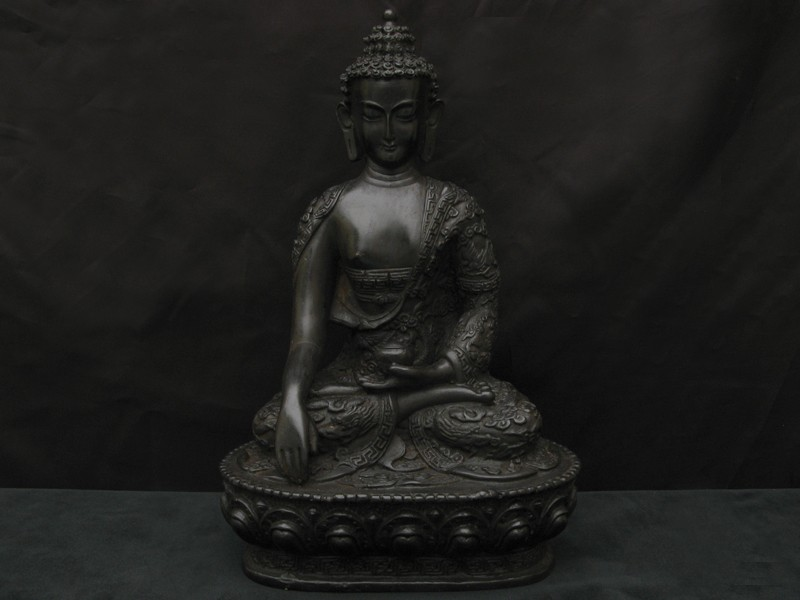 st45 statue bouddha dragon statue tibetaine artisanat tibetain deco tibetaine. Black Bedroom Furniture Sets. Home Design Ideas