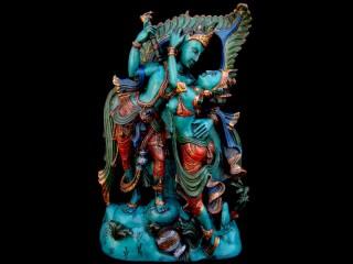 St70 Statue Krishna & Radha