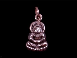 PA206 Petit Pendentif Argent Massif Bouddha