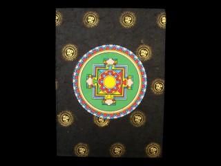 CrA12 Carnet Artisanal Népalais Mandala Om
