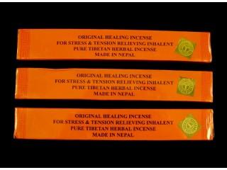 Ens01 Lot de 3 Boites d'Encens Tibétain contre le Stress et la Tension