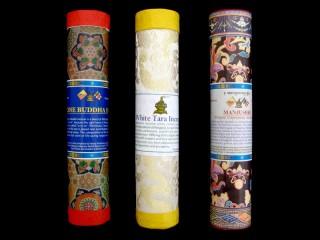 Ens17 Lot de 3 Boites d'Encens Tibétain