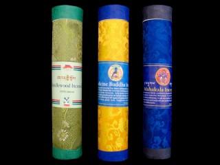 Ens20 Lot de 3 Boites d'Encens Tibétain