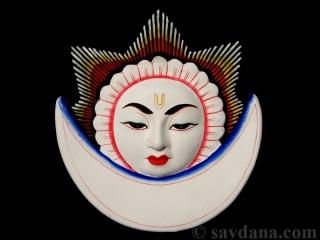 Msq38 Masque Soleil Lune