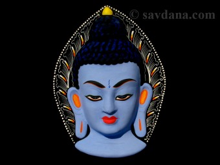 Msq40 Masque Bouddha