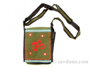 Sac53 Sac Besace du Népal Om