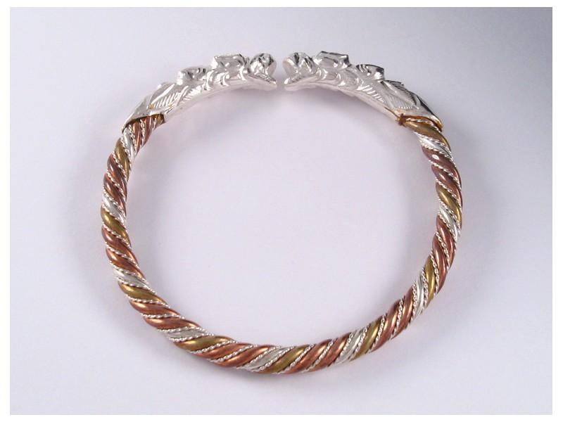 bracelet 3 metaux